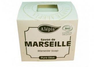 ALEPIA Mydło Marsylskie 100% Oliwa z Oliwek BIO 230 g